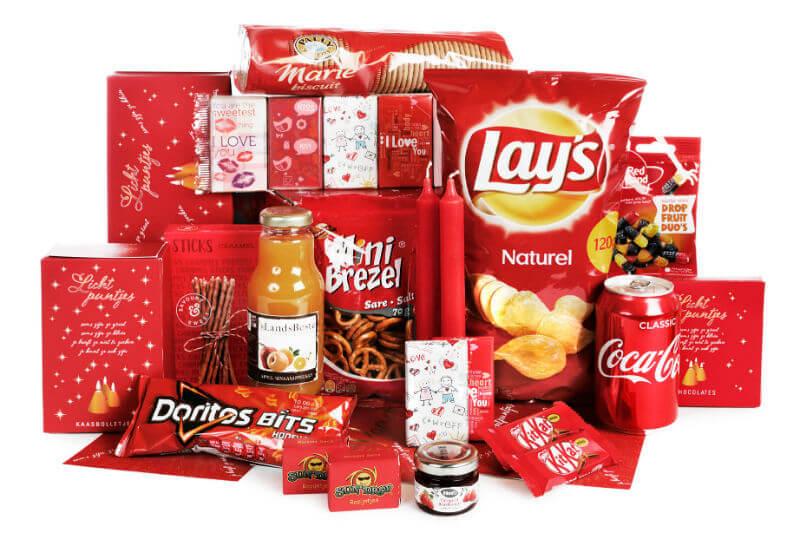 De foodpakketten van WWG Kerstpakketten