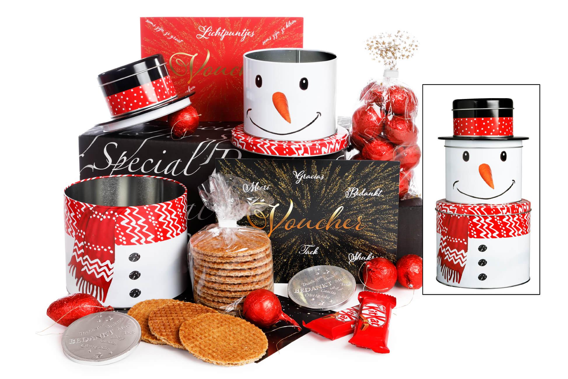 Traditioneel kerstpakket van WWG