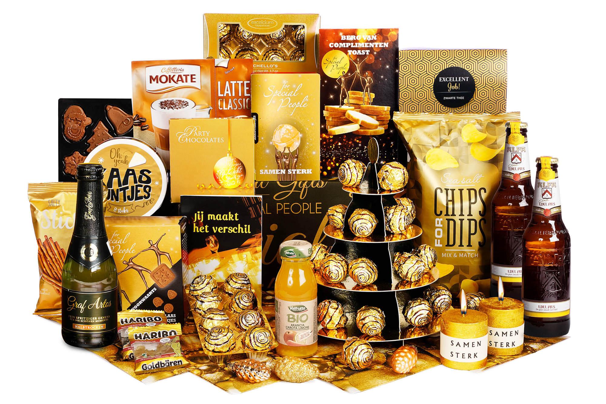 Rijkgevulde kerstpakketten tot 30 euro